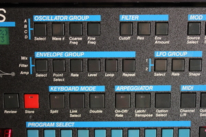 Sequential Circuits Prophet VS Rack : Prophet VS 1tof 05.JPG