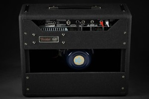 fender 68 custom princeton reverb black and blue limited edition 3  1
