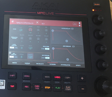 Akai MPC Live : program edit