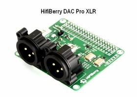 HifiBerry DAC Pro XLR (Vue)