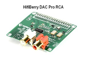HifiBerry DAC Pro RCA (Vue)