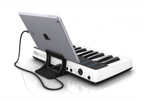 IK Multimedia iRig Keys I/O 25 : ikc L 07 iRigKeys 25 IO sx34 ipad stand back