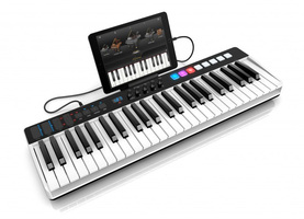 IK Multimedia iRig Keys I/O 49 : ikc L 08 iRigKeys 49 IO sx34 ipad