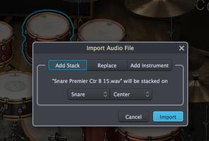 Toontrack Superior Drummer 3 : stack