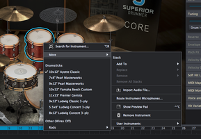 Toontrack Superior Drummer 3 : replace