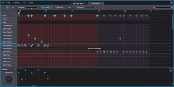 Toontrack Superior Drummer 3 : grideditor