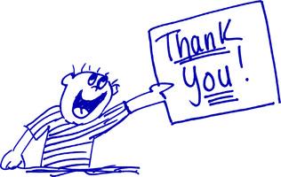 thank you cartoon