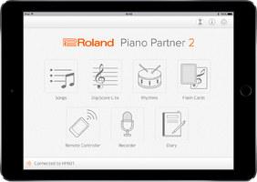 Roland Piano Partner 2 : piano partner 2 main screen e gal