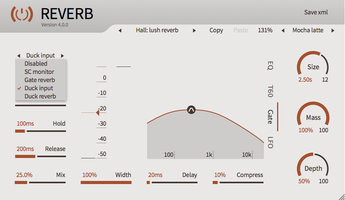 ToneBoosters Reverb 4 : Reverb 4 White