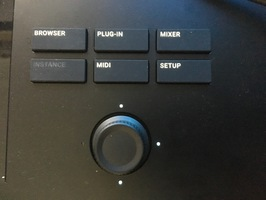 Native Instruments Komplete Kontrol S49 mk2 : navigation