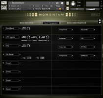Momentum GUI 4