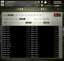 Momentum GUI 2