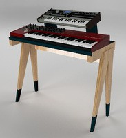 La Progue : Keyboard stand