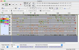 Audacity 220 Mac normal