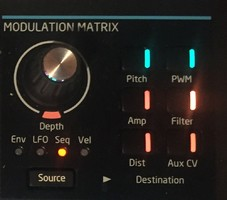matrice de modulation