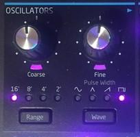boutons oscillateurs