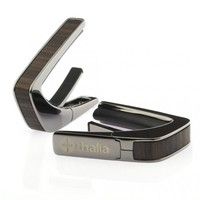 Thalia Capo Indian Rosewood Inlays with Black Chrome Finish : indian rosewood inlays with black chrome finish