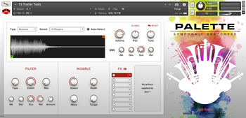 Red Room Audio Symphonic Sketchpad : SySk Main GUI Trailer