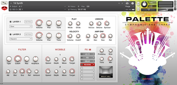 Red Room Audio Symphonic Sketchpad : SySk Main GUI Synth
