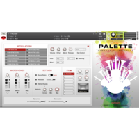 Red Room Audio Symphonic Sketchpad : SySk Main GUI