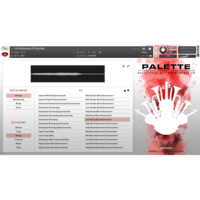 Red Room Audio Brush Pack 02 - Orchestral FX : FX Builder Instrument List