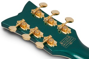 Schecter Coupe : COUPE GREEN HEADSTOCK BACK
