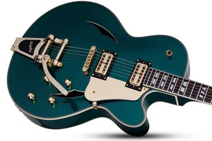 Schecter Coupe : COUPE GREEN DOWNSHOT