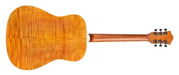 Guild D-240E Flamed Mahogany : d240E fm back