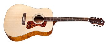 Guild D-240E Flamed Mahogany : d240E fm side