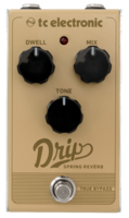 TC Electronic Drip Spring Reverb : Drip Spring Reverb front hires