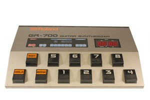 gr 707 g 707 guitar synth back