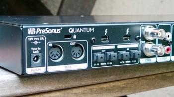 PreSonus Quantum : PresonusQuantum 4