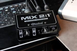 Radial Mix 2 1 on laptop