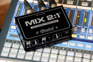 Radial Mix 2 1 on mixer 2 dted