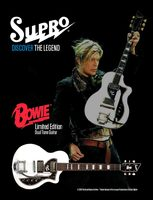 Supro David Bowie Limited Edition Dual Tone : Bowie KMC ad 17 786x1024