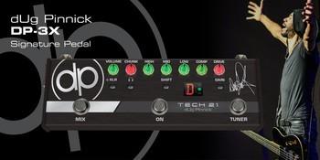 Tech 21 DP-3X : dug pedal main