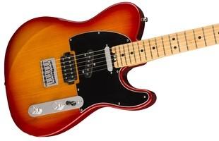 Fender The Elite Nashville Telecaster HSS : American Elite Nashville Telecaster, Antique Cherry Burst 2