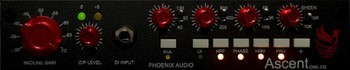 Phoenix Audio Ascent One EQ : ascent1eq front 1