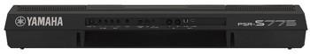 Yamaha PSR-S775 : PSR S775 Rear