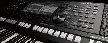 Yamaha PSR-S775 : PSR S775 Front