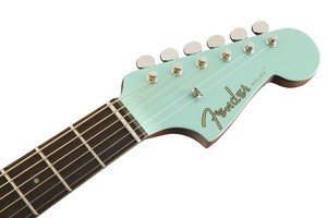 Fender Malibu Player : California Series Malibu Player   Aqua Splash 3