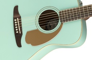 Fender Malibu Player : California Series Malibu Player   Aqua Splash 2