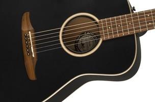 Fender Malibu Special : California Series Malibu Special   Matte Black 3