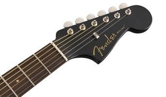 Fender Malibu Special : California Series Malibu Special   Matte Black 4