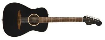 Fender Malibu Special : California Series Malibu Special   Matte Black 2