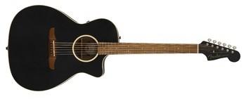 Fender Newporter Special : California Series Newporter Special   Matte Black 2