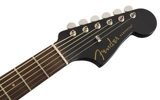Fender Newporter Special : California Series Newporter Special   Matte Black 4