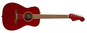 Fender Malibu Classic : California Series Malibu Classic   Hot Rod Red Metallic 3