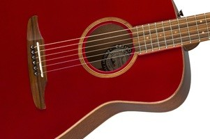 Fender Malibu Classic : California Series Malibu Classic   Hot Rod Red Metallic 1
