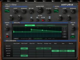 Arturia 3 Filters : Filter M12 Filter